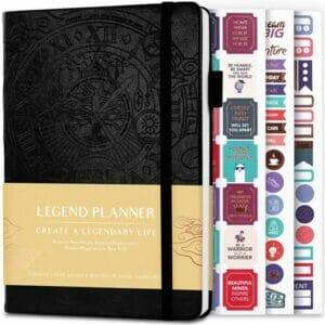 Legend Planner - Deluxe Weekly & Monthly Life Planner